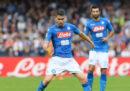 Napoli-Fiorentina in streaming e in diretta TV