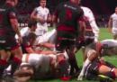 Il video del rugbista del Tolosa che protegge con il proprio corpo un avversario infortunato