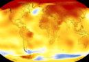 Il 2017 è stato il secondo anno più caldo mai registrato