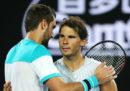 Rafael Nadal è stato eliminato dal croato Marin Čilić nei quarti di finale degli Australian Open