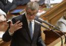 Il governo di Andrej Babis in Repubblica Ceca non ha ottenuto la fiducia in Parlamento
