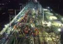 1.500 operai costruiscono un intero tratto di ferrovia in 8 ore e mezza, in Cina