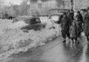Neve sulla 57esima strada