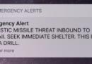 L'uomo che a metà gennaio aveva attivato il falso allarme missilistico alle Hawaii è stato licenziato