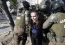 Le proteste contro il Papa in Cile