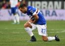 Sampdoria e Roma hanno pareggiato 1 a 1 nel recupero della terza giornata di Serie A giocato stasera