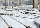 Le informazioni sui treni di oggi, tra cancellazioni e ritardi dovuti alla neve