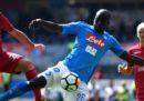 Cagliari-Napoli in streaming e in diretta TV