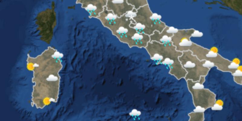 Meteo Italia Cartina.Le Previsioni Meteo Per Giovedi 22 Febbraio Il Post