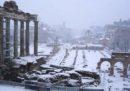 A Roma le scuole saranno chiuse anche domani, martedì 27 febbraio, a causa della neve
