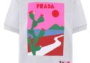 Le magliette di Prada illustrate da Olimpia Zagnoli