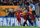 La Roma ha passato il turno e giocherà ai quarti di finale di Champions League