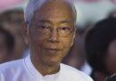 Il presidente del Myanmar, Htin Kyaw, si è dimesso