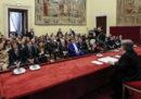 I capigruppo dei partiti alla Camera e al Senato