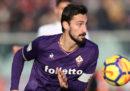 È morto a 31 anni il capitano della Fiorentina Davide Astori