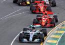 Formula 1: l'ordine di arrivo del Gran Premio d'Australia