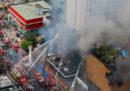 Ci sono almeno 3 morti per un incendio a un casinò di Manila, nelle Filippine