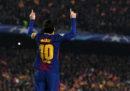 Il centesimo gol di Messi in Champions League