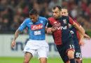 Napoli-Genoa in streaming e in diretta TV