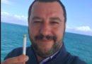 Ma Salvini quante volte ha smesso di fumare?