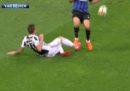 I due falli di Inter-Juventus di cui si parla da ieri sera