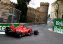 Sebastian Vettel partirà in pole position nel Gran Premio d'Azerbaijan di Formula 1
