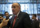 Rudy Giuliani dice che fu Trump a pagare i 130mila dollari usati per comprare il silenzio della pornostar Stormy Daniels