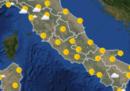 Le previsioni meteo in Italia per domani, venerdì 6 aprile