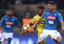 Napoli-Chievo Verona in streaming e in diretta TV