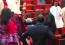 Un gruppo di uomini armati ha rubato il simbolo del Senato della Nigeria