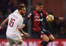 Roma-Genoa in streaming e in diretta TV