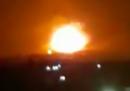 Alcune basi militari siriane sono state colpite da «missili nemici»