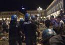 È in corso un'operazione della procura di Torino per arrestare 8 persone accusate di aver scatenato i disordini di piazza San Carlo