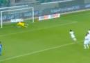 Il primo gol di Balotelli al ritorno in Nazionale