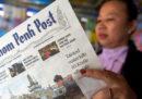 Uno degli ultimi giornali cambogiani liberi è stato venduto a una società vicina al primo ministro