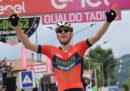Lo sloveno Matej Mohoric ha vinto la 10ª tappa del Giro d'Italia, da Penne a Gualdo Tadino