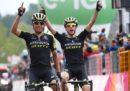 Esteban Chaves ha vinto la sesta tappa del Giro d'Italia, Simon Yates è la nuova maglia rosa