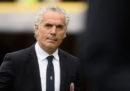 Il Bologna ha esonerato il suo allenatore Roberto Donadoni