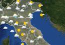 Le previsioni del tempo di domani, domenica 13 maggio