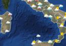 Le previsioni meteo per giovedì 10 maggio