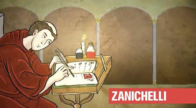 Provateci voi a scrivere come nel Medioevo