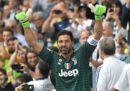 I video dell'ultima partita di Buffon con la Juventus
