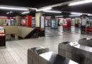 Dodici persone sono lievemente ferite dopo una brusca frenata sulla metropolitana di Milano