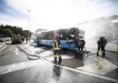 A Roma ha preso fuoco un altro autobus