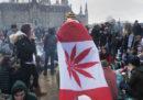 Il Canada ha legalizzato la marijuana a scopo ricreativo