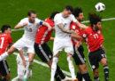 L'Uruguay ha vinto 1-0 contro l'Egitto nella seconda partita del Gruppo A