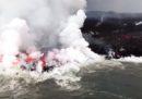 Cosa succede quando lava e oceano si incontrano, intorno al vulcano Kilauea alle Hawaii