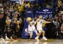 Com'è finita gara-1 dei playoff NBA tra Golden State Warriors e Cleveland Cavaliers