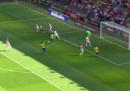 Il primo gol di Neymar dopo l'infortunio di febbraio