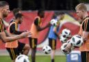 In che lingua si parlano i giocatori del Belgio?